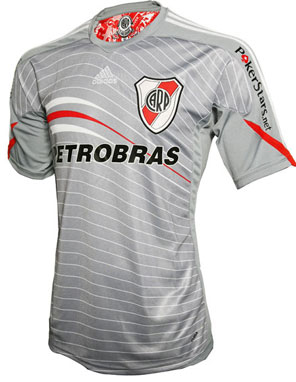 Camisa cinza do River Plate